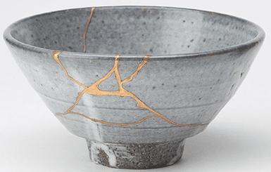 Kintsugi method of repair & enhancement