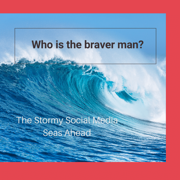 Weather the stormy seas of social media